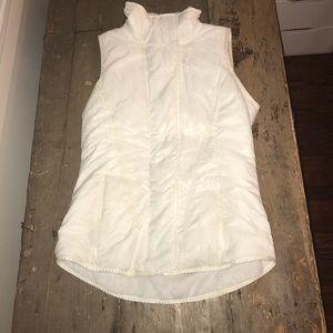 Lululemon Glacier Pearl White Down Vest